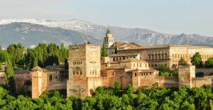 Andalūzija lankytinos vietos